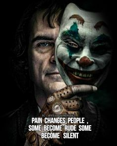 Best Joker Status For Whatsapp With Images & Quotes Attitude Quotes, Mood Quotes, Positive Quotes, Life Quotes, Life Sayings, Tomboy Quotes, Positive Thoughts, Joker Images, Joker Pics