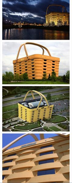 The Longaberger Company in Newark, Ohio [thought it was in PA. oh well. jh]