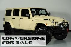 Lifted 2014 Jeep Wrangler Unlimited Kevlar Coated