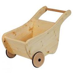 Wooden kid's wheelbarrow