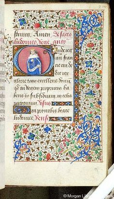 Book of Hours, MS G.1.II fol. 270r - Images from Medieval and Renaissance Manuscripts - The Morgan Library & Museum