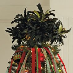 Feather Tree Topper