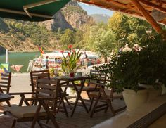 View from Cafe Smyrna of the Dalyan River