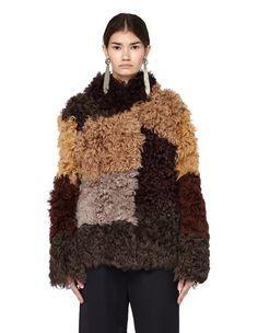 Shearling jacket Marni - buy