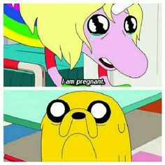 """Adventure Time - Jake & Lady