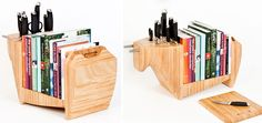 Great all purpose kitchen storage idea, not sure if I like the bull theme or not though....