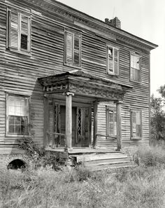 "1937. Rowan County, N.C. ""Maxwell Chambers house, Spencer vicinity. Structure dates to ca. 1800-1810."""