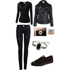 Teen Wolf Derek inspired-girl style