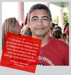 Só quem sabe dialogar e conversar com todas as categorias é que está preparado para governar Fortaleza. E o Welington Monteiro sabe que esta pessoa é #Elmano13doPT