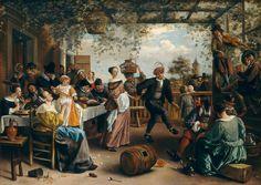Jan Steen, The Dancing Couple