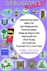 Debugging Rules poster!