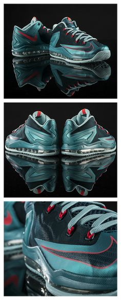 dca1921187c Nike Air Max LeBron XI Low featuring this turbo green colorway.