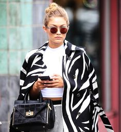 Hadid News || Your best and ultimate source for all things about the Hadid sisters  - September 13: Gigi Hadid spotted out in New York...