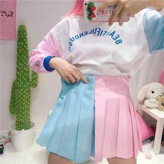 "Sweet students skirt   Coupon code ""cutekawaii' for 10% off"