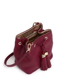 Image result for leather bucket crossbody bags