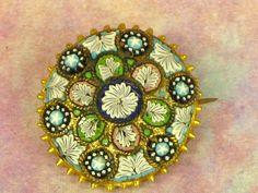 micro mosaic pin