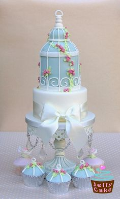 Bird Cage Wedding Cake by www.jellycake.co.uk, via Flickr