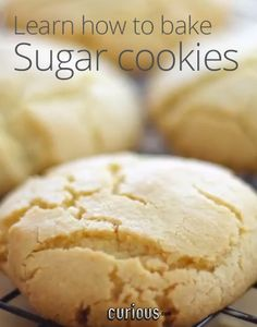 In need of something sweet? Why not learn a timeless recipe for simple sugar cookies? They only need 10 to 15 minutes to bake, and you've got a golden treat.