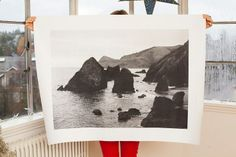 DIY project for over-sized photo prints