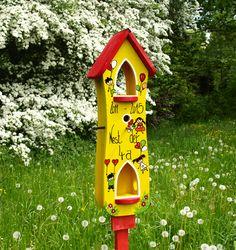 Vogelhaus Abschied, Abschiedsgeschenk Kindergarten
