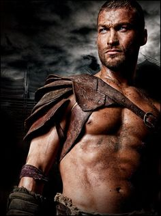 Andy Whitfield in Spartacus Season #3.