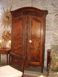 I would love to have an armoire in every room.   King's House Antiques - Fine French and English antique furniture, quality reproductions, Birmingham, Alabama. Offering furniture repair.