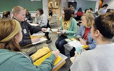 Anderson University students participated in a poverty simulation on Dr. Martin Luther King Jr. Day. Read The Herald Bulletin's article: http://anderso.nu/poverty-MLK