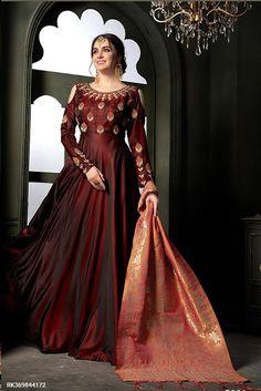 5d69010394ba Sringaar Women Clothes  Gown Style Anarkali Salwar Kameez Collection....  Eid Dresses