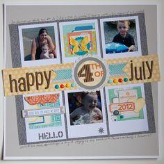 Happy 4th of July- Noel Mignon - Scrapbook.com