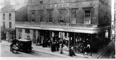 How Fenwick, a Tyneside retail institution, started life in a single house in Northumberland Street in 1882 Great Pictures, Old Pictures, Old Photos, Animal Pictures, Trampolines, Blaydon Races, Clan Castle, Newcastle Gateshead, Durham City