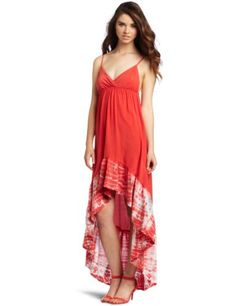 Amazon.com: Gypsy 05 Women's Tye-Dye Ruffle Dress: Clothing