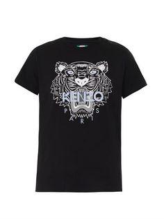 Tiger-print T-shirt | Kenzo |
