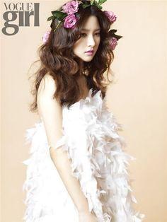 Korean vogue girl