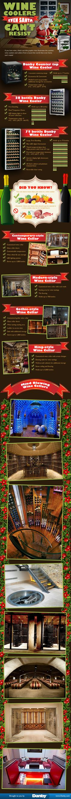 As you are enjoying your favorite spiced wines and meals this holiday season, check out this list of crazy and wild wine cellars and wine coolers. Happy Holidays from our family here at Danby to yours at home!