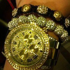 Sparkly watch