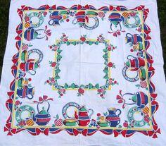 Vintage Tablecloths - I Antique Online