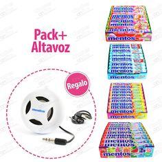 PACK MENTOS 4x20 uds + ALTAVOZ