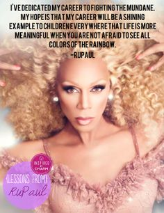 Lessons From: RuPaul
