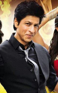 Shahrukh Khan-who could resist that smile