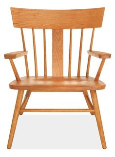 Sandberg Chair in Cherry - Chairs - Living: Seating - Room & Board