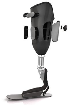 Prosthetic limb that allows you to adjust the fit with a dial - no kidding thought about something like this at LeaderShape for my vision