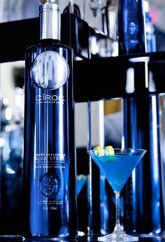 Cîroc Blue Steel Cocktail