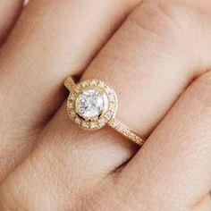 Efflorescence Ethical Fairtrade Diamond Engagement Ring