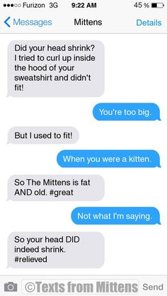 NEW Daily Mittens: The Shrinking Head Edition More Mittens: http://textsfrommittens.com/ Order Mittens' book: http://amzn.to/1BVvMmB