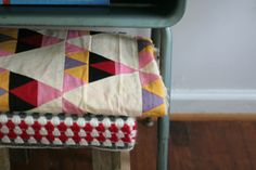 Creative ideas for you: Triangle Quilt