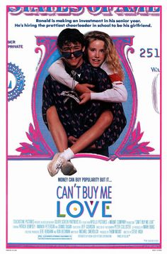 Watch Can't Buy Me Love full hd online Directed by Steve Rash. With Patrick Dempsey, Amanda Peterson, Courtney Gains, Tina Caspary. A nerdy outcast secretly pays the most popular girl in scho Amanda Peterson, Teen Movies, Hd Movies, Movies Online, Movies And Tv Shows, Watch Movies, Pixar Movies, Patrick Dempsey, Love Film
