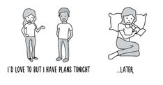 What's Inside An Introvert's Head (6 Pics)   Bored Panda