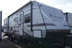 2016 New Heartland Pioneer BH270 Travel Trailer in Mississippi MS.Recreational Vehicle, rv, 2016 Heartland PioneerBH270, Bike Rack, Black tank flush, Enclosed Underbelly, Night shades, Pioneer Value Package, Power Awning w/ LED Light Strip, POWER STAB JACKS, Power Tongue Jack, RVIA Seal, Spare Tire and Carrier,
