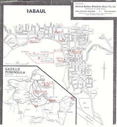 Vintage Rabaul map    HOME