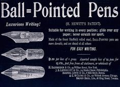 Ball=Pointed Pens